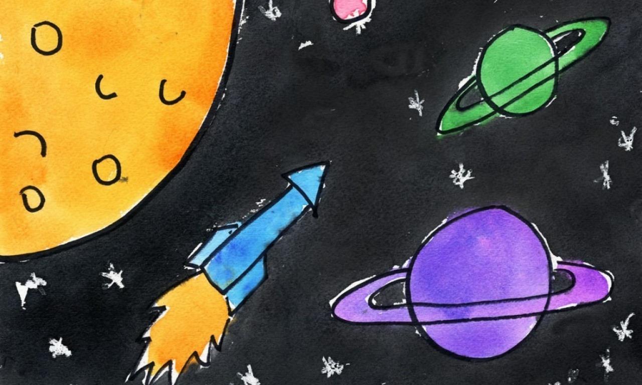 I bambini nello spazio