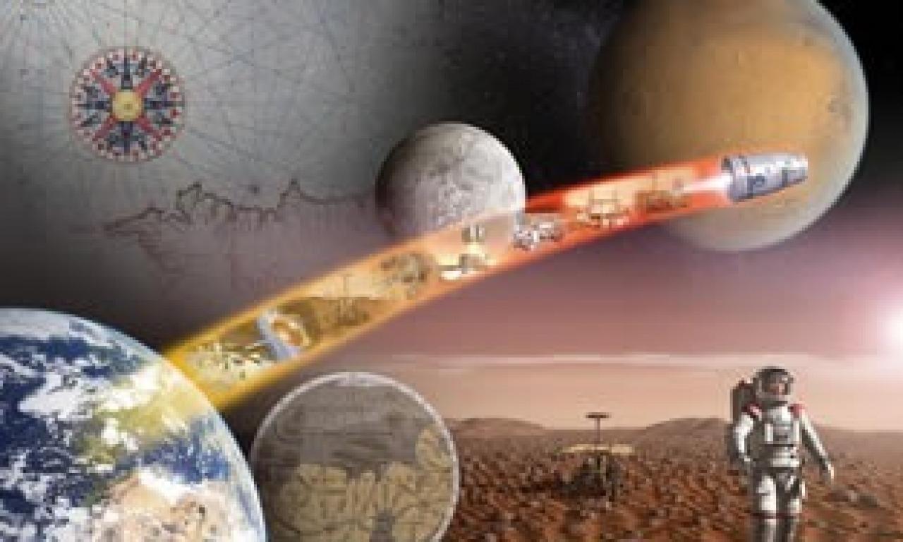 Terra, luna... Marte