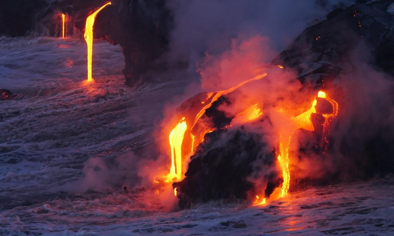 La terra dei vulcani